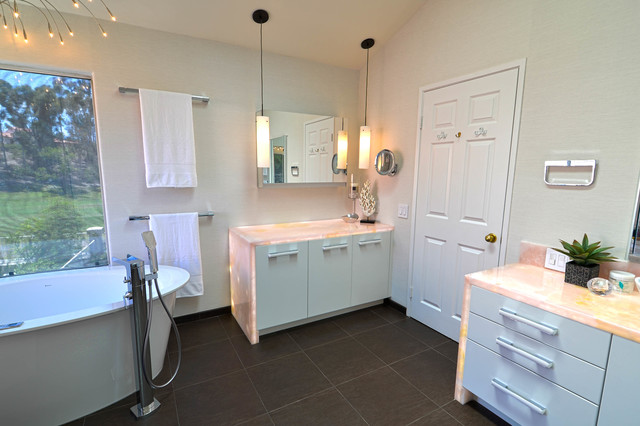 Elegant Master Suite Global Design Contemporary Bathroom Other Metro By Signature