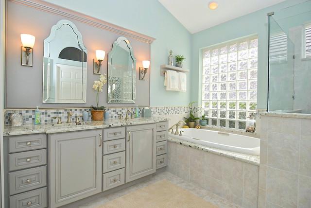 Elegant Mosaic Master Bath // Lakewood Ranch - Traditional - Bathroom ...