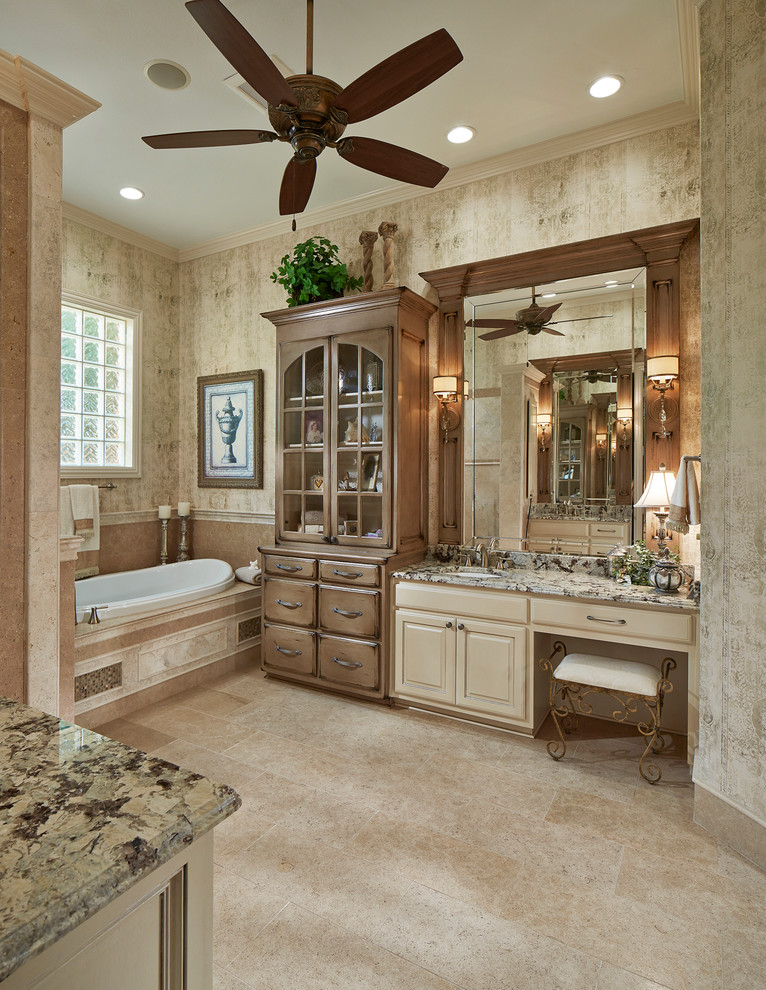 Elegant Neo Classic Bathroom in Dallas Area - Traditional ...