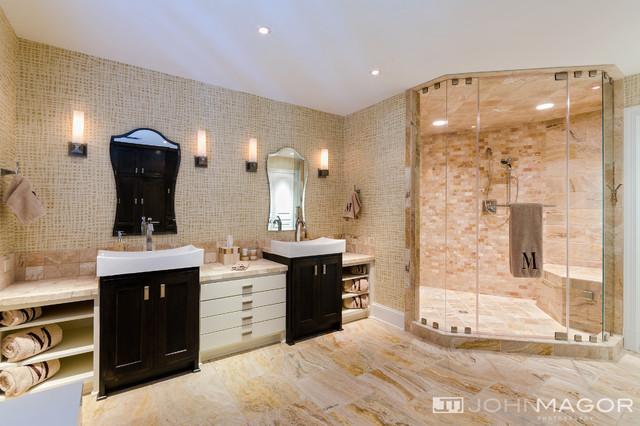 Elegant Residence Contemporary Bathroom Richmond