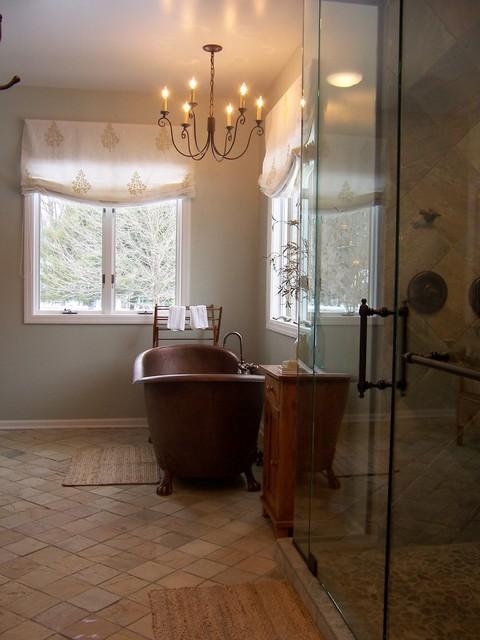 Elegant Rustic Master Bathroom Rustic Bathroom Grand Rapids By Lindsay Hoekstra Custom