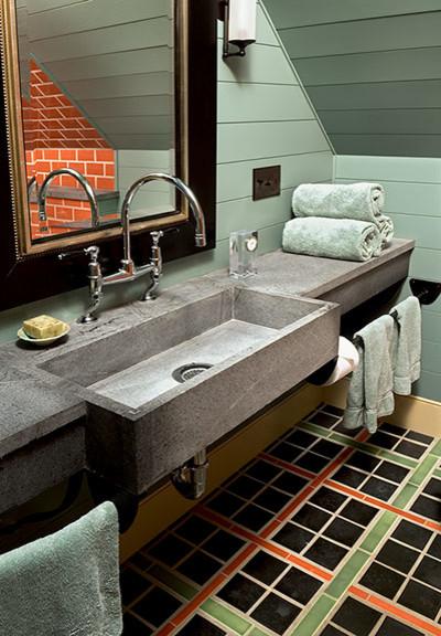 Elegant Rustic rustic-bathroom