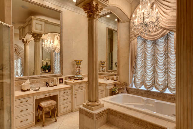 Elegant traditional home for Elegant bathroom designs pictures