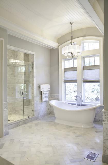 Elegant Traditional Master Bath - Traditional - Bathroom ...