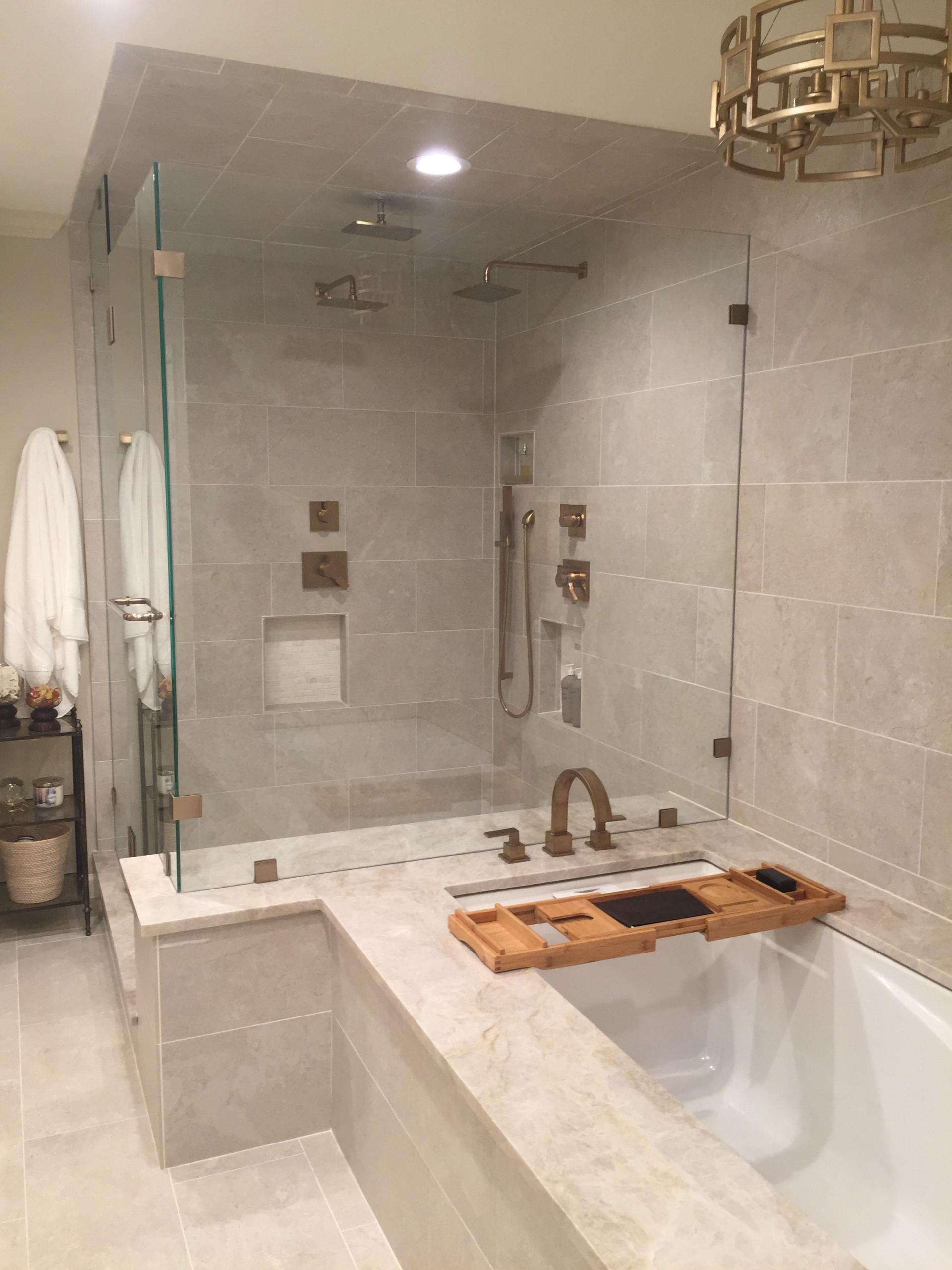 Elegant Transitional Master Bathroom