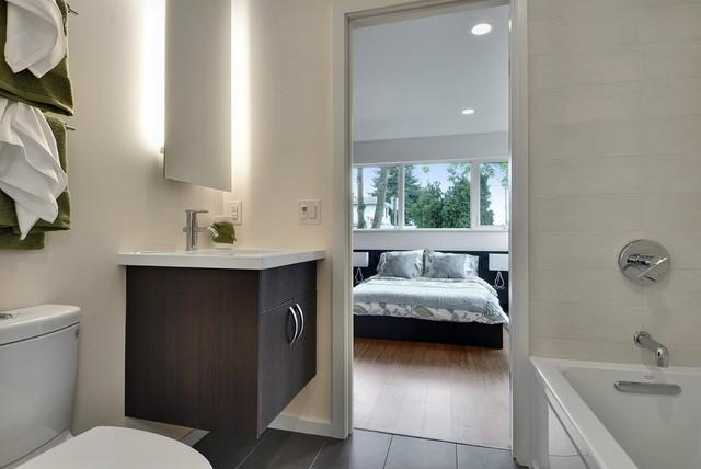 Elemental Design, LLC modern-bathroom