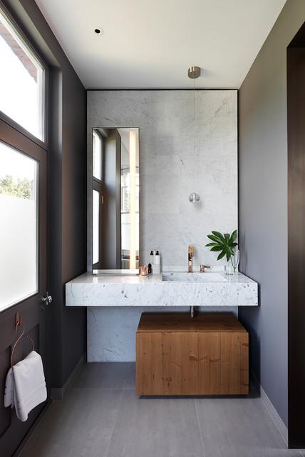 Elgin Mansions contemporary-bathroom