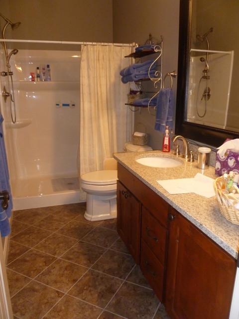 Elk Rapids Custom Home traditional-bathroom