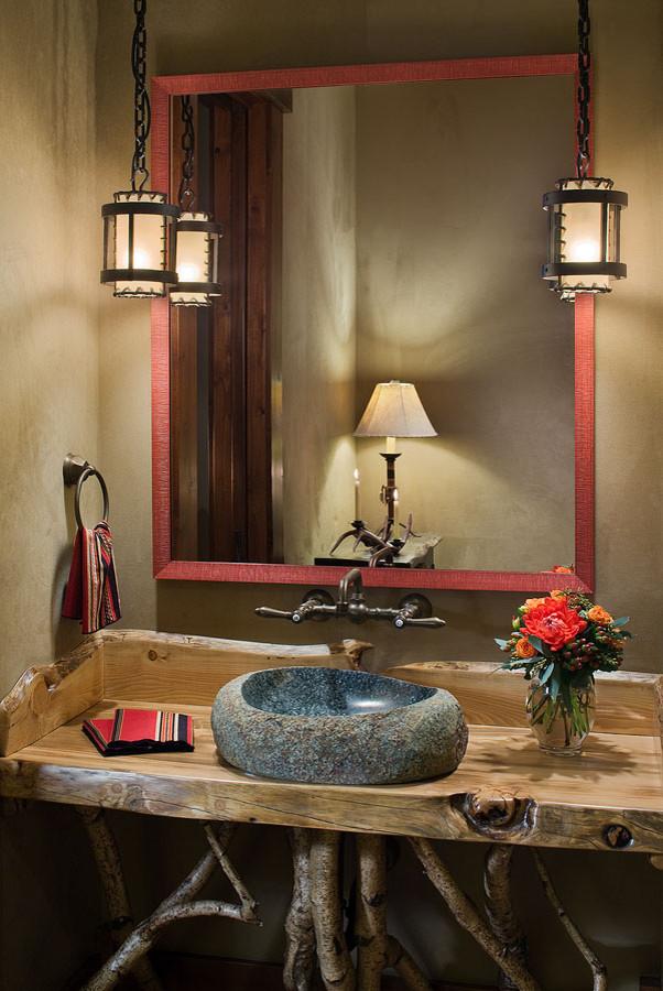 Bathroom - traditional bathroom idea in Denver