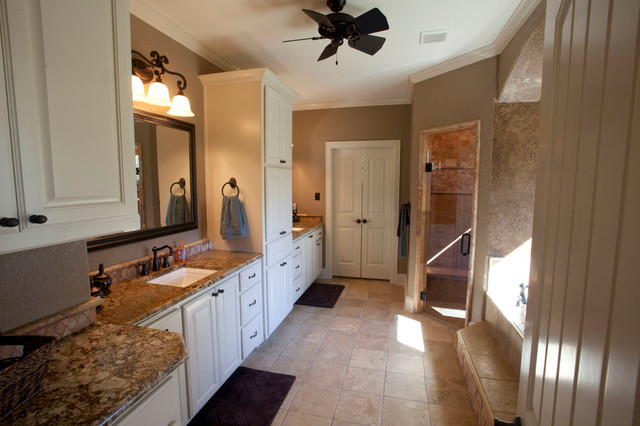 Elkhart Craftsman Bathroom Other By Campbell Custom Homes