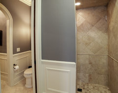 Elm Grove Custom Home traditional bathroom