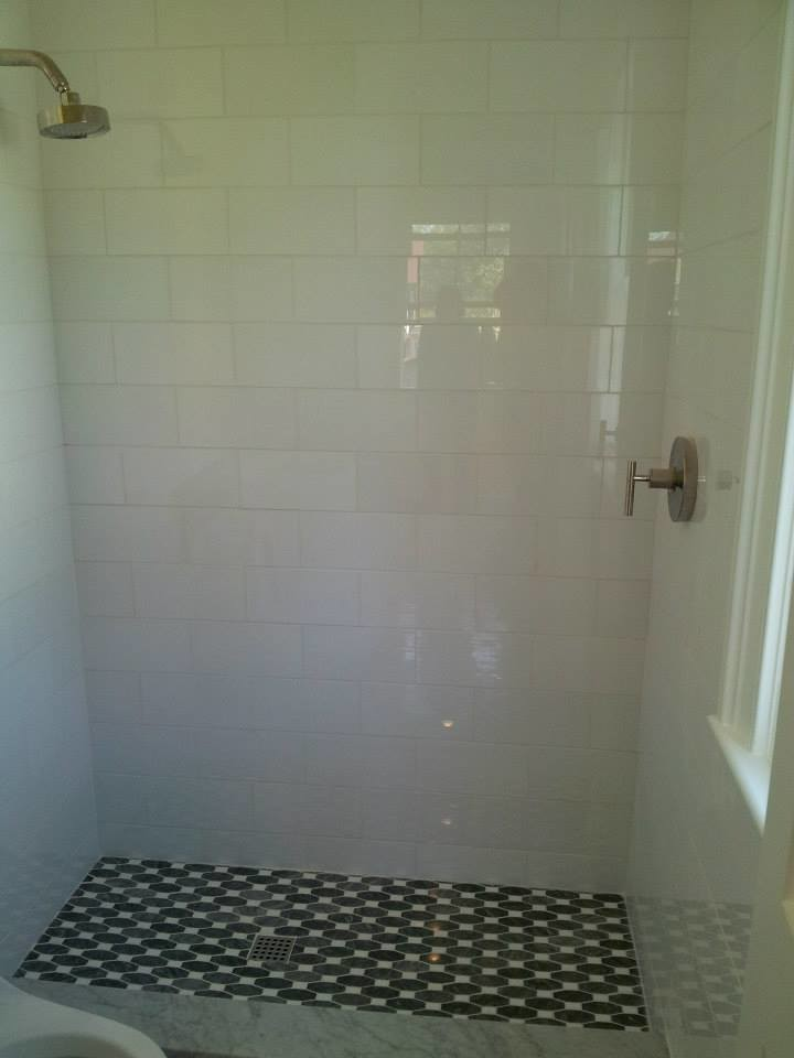 Elegant bathroom photo in Charleston
