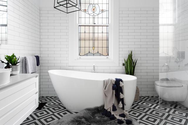 9 Timeless Bathroom Colour Schemes | Houzz AU