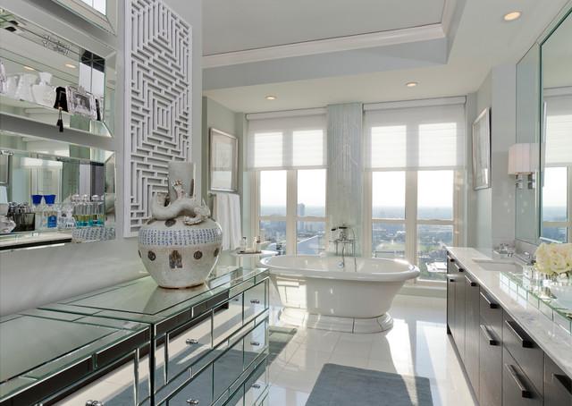 Anthony Michael Interior Design Ltd Designers Decorators Elysian Residence Contemporary Bathroom