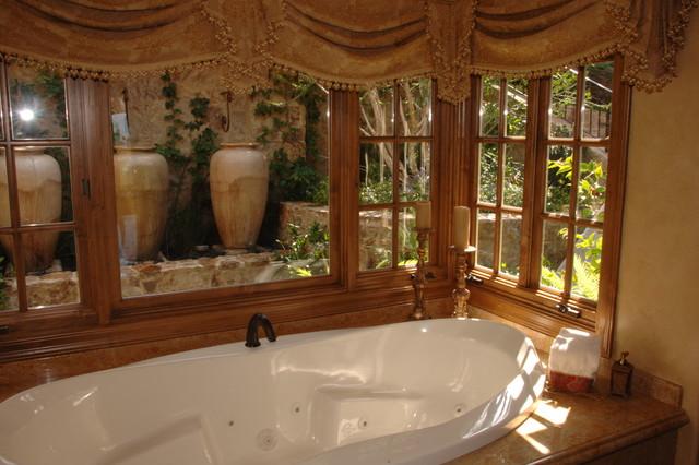 Emerald Bay mediterranean-bathroom