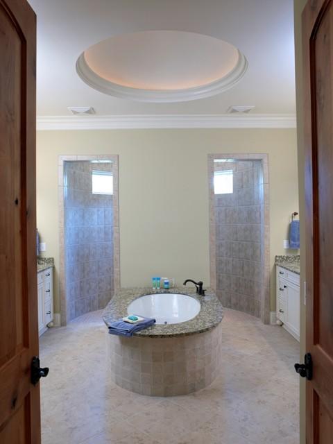 Emerald Cove traditional-bathroom