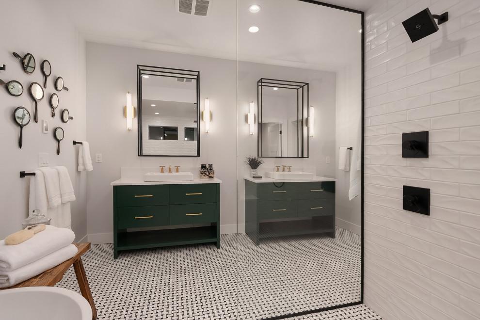 Emerald Green Vanities - Farmhouse - Bathroom - Seattle ...