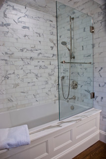 I Like This Idea For A Shower Tub Combo