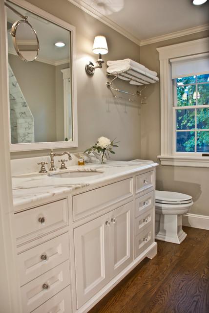 Empty Nester Traditional Bathroom Boston By 1 Plus 1 Design