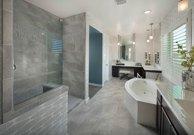 Emser Tile St Moritz Series Contemporary Bathroom