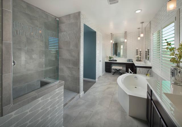 Emser Tile St Moritz Series Contemporary Bathroom