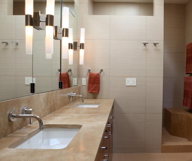 70's Modern modern-bathroom