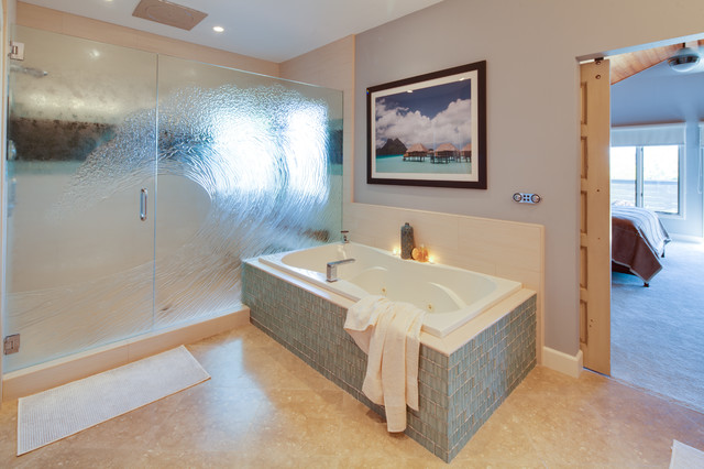Encinitas California Bathroom Remodel Contemporary