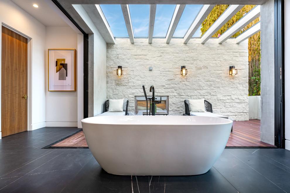 Encino bath room - Contemporary - Bathroom - Los Angeles ...