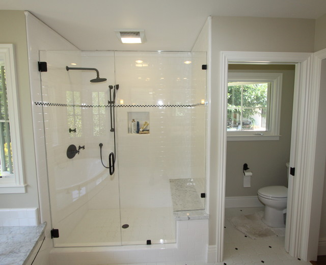 Enclosed toilet room for Toilet room in master bath