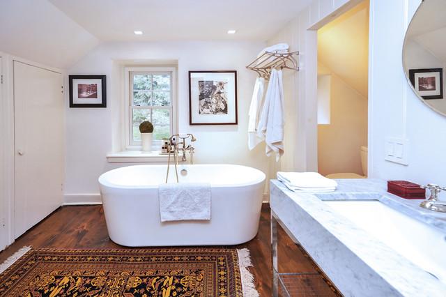 English cottage bathroom new york by linda mcmanus images