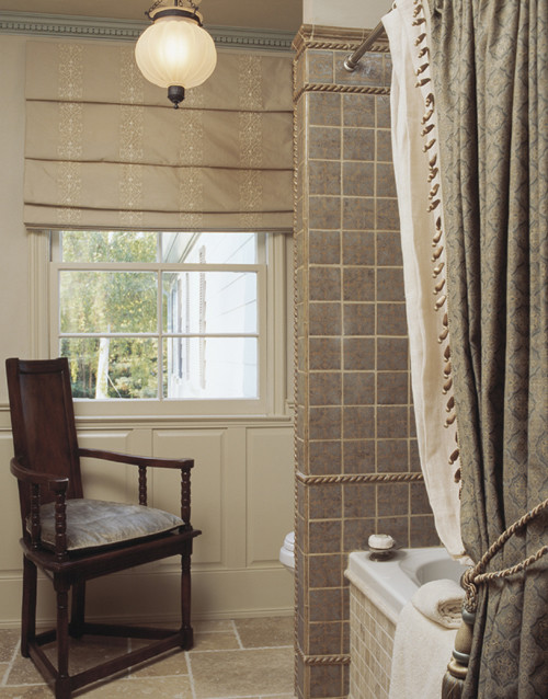 English Country Home In Marin Traditional Bathroom