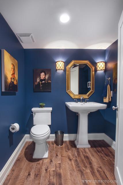 English tudor lake drive traditional bathroom other for Tudor bathroom design