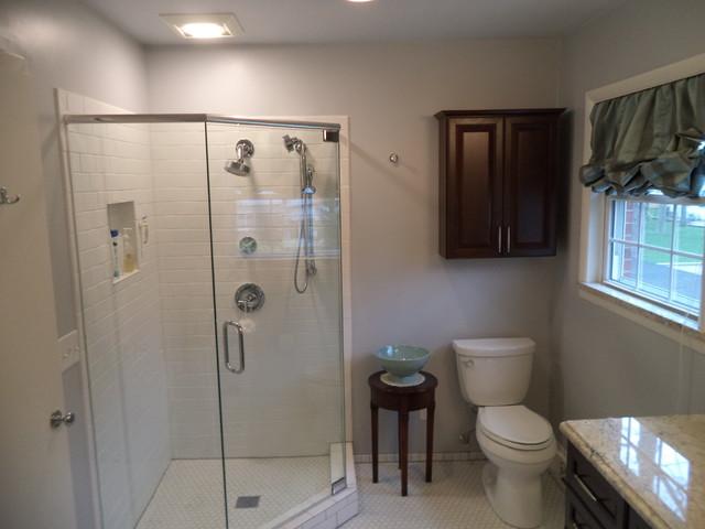 Enlarged Bathroom Project traditional-bathroom