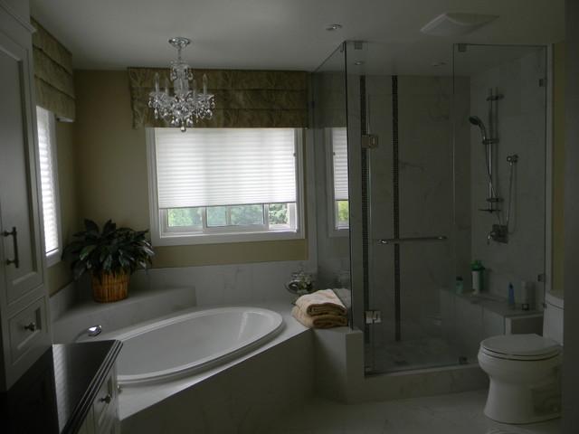 Ensuite 2010 contemporary-bathroom