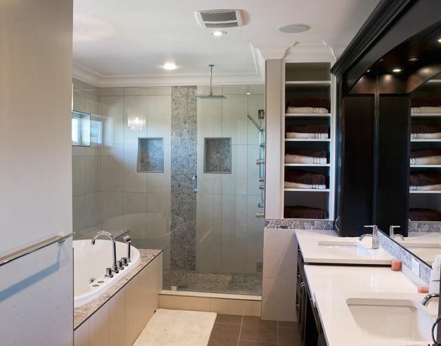 Ensuite Bathroom contemporary-bathroom