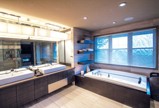 Ensuite Bathroom In Patterson Calgary Contemporary Bathroom Calgary By Pedini Calgary