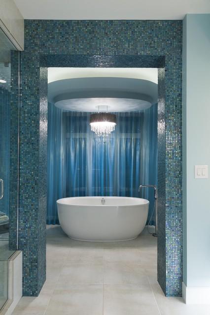 Ensuite contemporary-bathroom