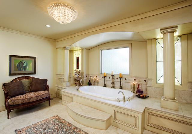 Ensuite traditional-bathroom