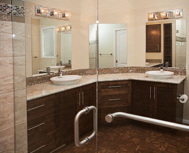 Ensuite reno contemporary bathroom vancouver by for Interior designs reno nv