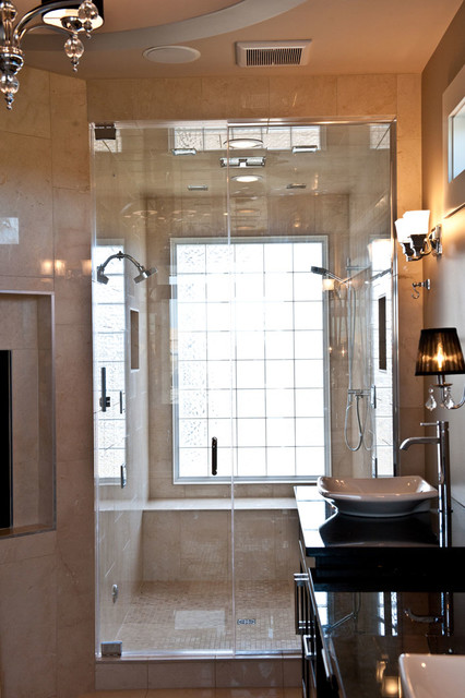 Ensuites for Home automation shower