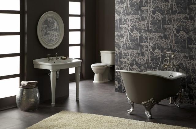 Epoque Nouveau™ High Back tub by Porcher Awaits - Traditional ...