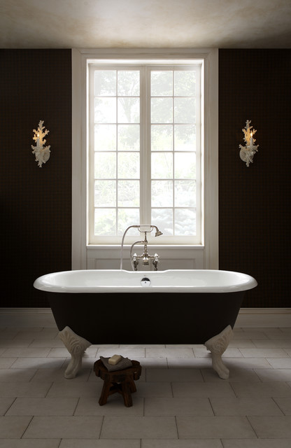 Epoque Nouveau Freestanding Tub By Porcher Traditional Bathroom St Loui