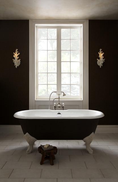Epoque Nouveau Freestanding Tub By Porcher Traditional Bathroom St Loui