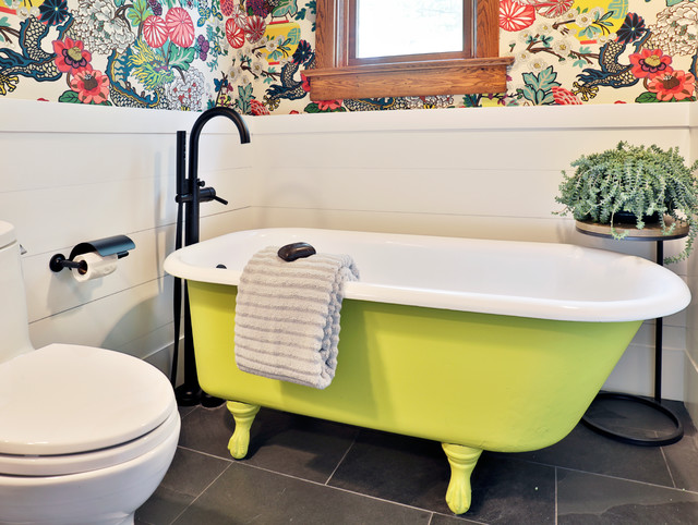 Surprising 10 Times When Painting A Claw Foot Tub Refreshed A Bathroom Cjindustries Chair Design For Home Cjindustriesco