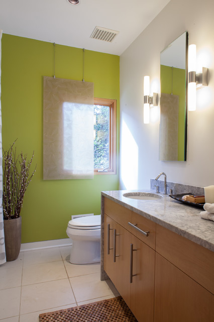 Eric Fisher Residence contemporary-bathroom