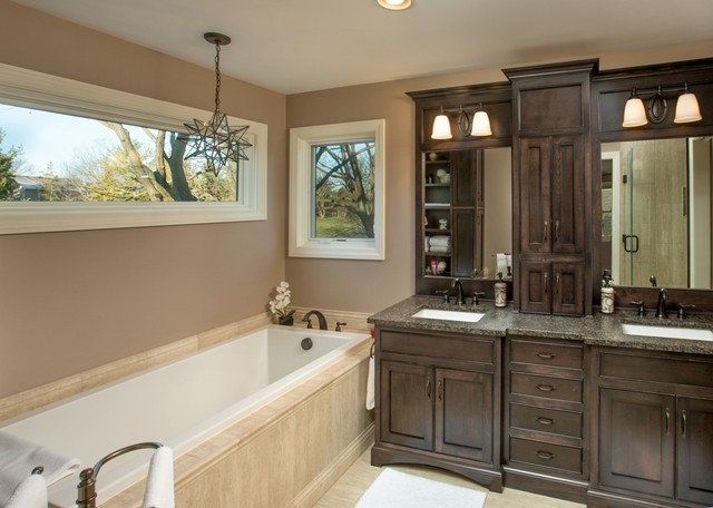 Espresso Master Bath Traditional Bathroom Columbus