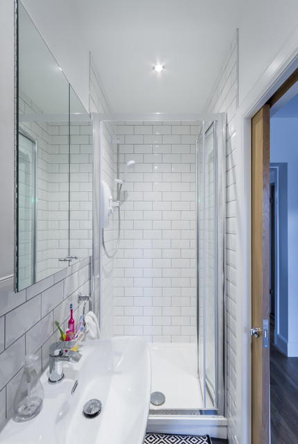 Essex Dr Extension Scandinavian Bathroom Glasgow By Karen Parry Architect