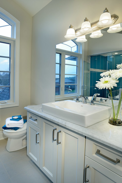 Estate Custom Home, Richmond Hill Ontario - Traditional - Bathroom Vanities And Sink Consoles ...