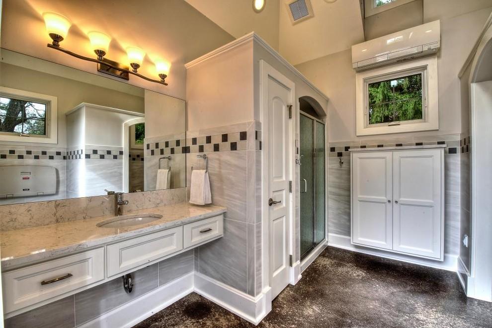 Estate Home Bathhouse, Carmel, IN - Traditional - Bathroom ...