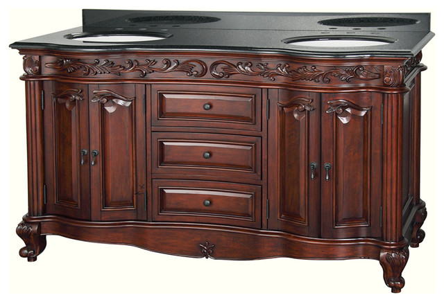 """Estates 60"""" inch Vanity - Traditional - Bathroom - new york - by Foremost"""